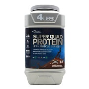 Inner Armour Super Quad Protein,  4 lb  Chocolate