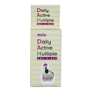 Zenith Nutrition Daily Active Multiple One A Day,  Unflavoured  60 Capsules