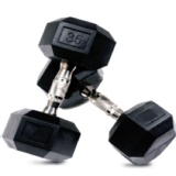 CRUZE Fitness Hexagon Dumbbells Imported,  Black  30 Kg Per Piece
