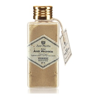 Just Herbs Packs,  60 G  Herbal Anti-Wrinkle Face Pack