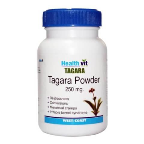 Healthvit Tagara powder,  60 capsules
