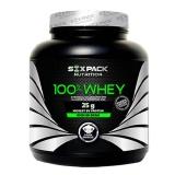 Six Pack Nutrition 100% Whey,  2.2 Lb  Choco Caramel