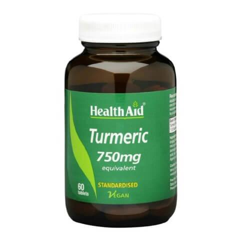 HealthAid Turmeric,  60 tablet(s)