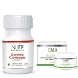 INLIFE Inch Management Combo Pack,  60 Capsules