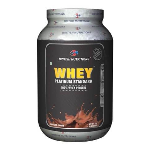 British Nutritions Whey Platinum Standard,  2.2 lb  Chocolate