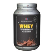 British Nutritions Whey Platinum Standard,  2.2 lb  Chocolate