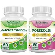 Morpheme Remedies Garcinia Cambogia + Forskolin,  120 capsules  Unflavoured