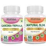 Morpheme Remedies Garcinia Cambogia Triphala + Natural Slim,  120 Capsules