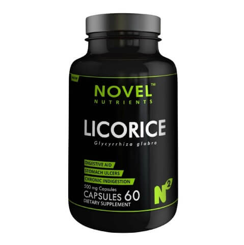 Novel Nutrients Licorice (500mg),  60 capsules