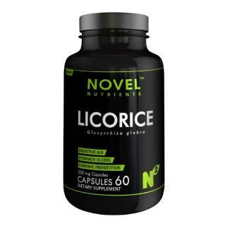 Novel Nutrients Licorice (500mg),  60 capsules