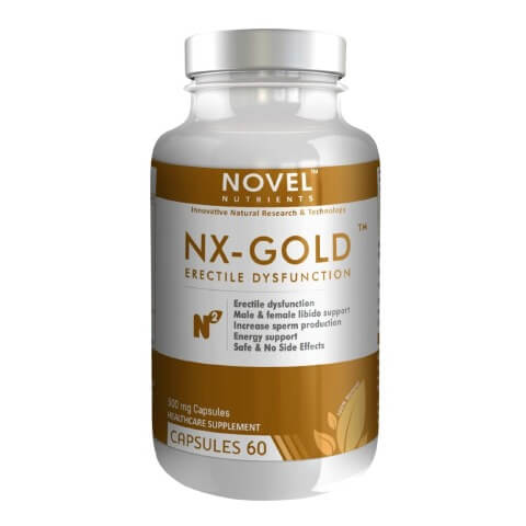 Novel Nutrients NX-Gold (500mg),  60 capsules