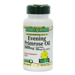 Nature's Bounty Evening Primrose Oil (1000 mg),  60 capsules