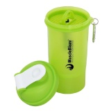 MuscleBlaze One More Rep Shaker,  Neon Green / Black  600 Ml