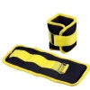 B Fit USA Ankle/Wrist Weight (AB3742),  Yellow & Black  1.5 kg