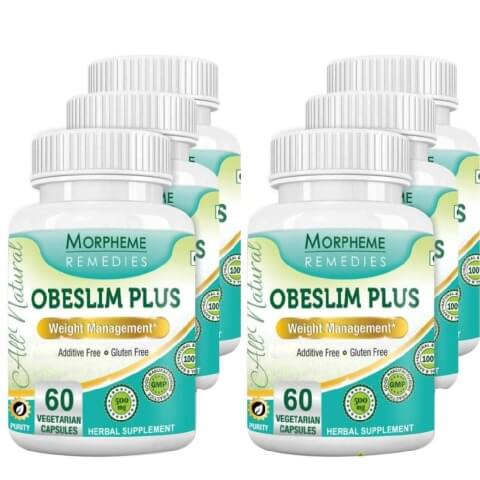 Morpheme Remedies Obeslim Plus (500mg),  6 Piece(s)/Pack  Unflavoured