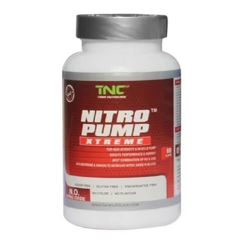Tara Nutricare Nitro Pump,  60 capsules  Unflavoured