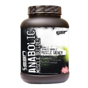 SSN Anabolic Muscle Builder,  2.2 lb  Strawberry