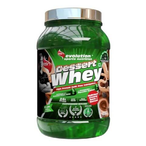 ESN Dessert Whey,  2 lb  Swiss Chocolate