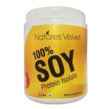 Natures Velvet 100 % Soy Protein Isolate,  2.2 Lb  Unflavoured