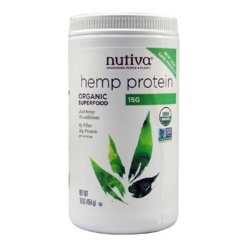 Nutiva Hemp Protein,  1 lb  Unflavoured
