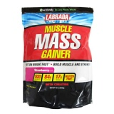 Labrada Muscle Mass Gainer,  Strawberry  12 Lb