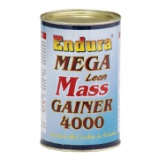 Endura Mega Lean Mass Gainer 4000,  Unflavoured  1.1 lb