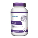 HealthViva Hair with Biotin,  Unflavoured  90 capsules