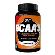 QNT BCAA's + Vit. B-6,  100 capsules  Unflavoured