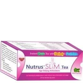 Nutrus Slim Tea (Pack of 3),  20 sachets/pack  Mint