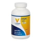 The Vitamin Shoppe MSM (500 Mg),  240 Capsules