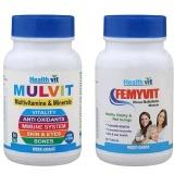 Healthvit Multivitamins For Men & Women Combo,  2 Piece(s)/Pack