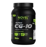 Novel Nutrients Super CG 10 Creatine with Glutamine,  Vanilla  0.66 lb