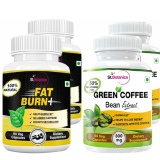St.Botanica Fat Burn+ + Green Coffee Bean Extract,  4 Piece(s)/Pack  Unflavoured