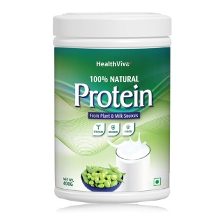 HealthViva 100% Natural Protein