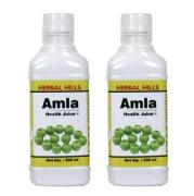 Herbal Hills Amla Health Juice (Combo),  Natural  0.5 L
