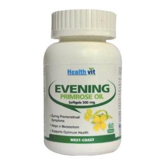 Healthvit Evening Primrose Oil (500 mg),  60 softgels