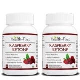 Health First Raspberry Ketones (Pack Of 2),  60 Capsules