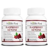 Health First Raspberry Ketones (Pack Of 2),  60 Capsules