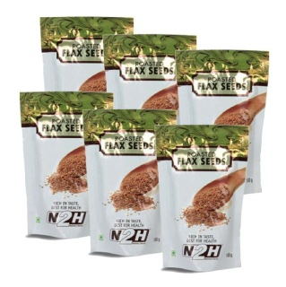N2H Roasted Flax Seeds (Pack of 6),  100 g