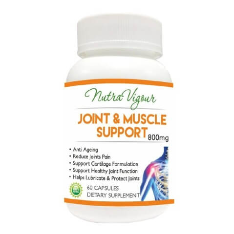 Nutra Vigour Joint & Muscle Support,  60 capsules