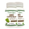 Nutra Vigour Green Coffee Bean Extract (800mg) (Pack of 2),  90 capsules
