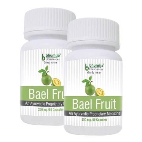 Bhumija Bael Fruit (Pack of 2),  60 capsules