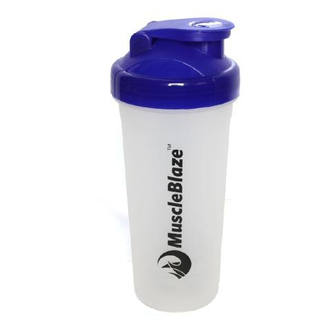 MuscleBlaze Shaker,  Blue  650 ml