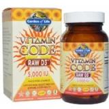 Garden Of Life Vitamin Code Raw D3,  60 Veggie Capsule(s)