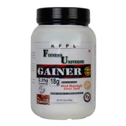 Fitness Universe Gainer,  2.2 lb  Choco