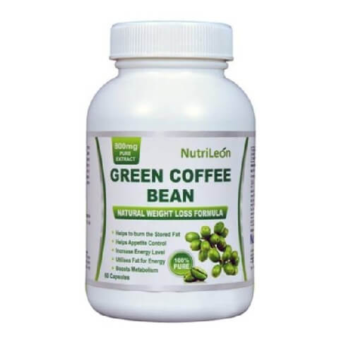 NutriLeon Green Coffee Bean,  60 capsules