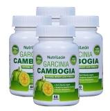 NutriLeon Garcinia Cambogia (Pack Of 4),  60 Capsules