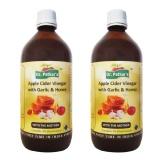 Dr. Patkar's Apple Cider Vinegar (Pack Of 2),  300 Ml  Garlic & Honey