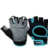 KOBO Gym Gloves (WTG-03),  Blue & Black  Medium