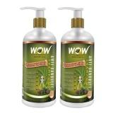 WOW Anti Dandruff Shampoo (Pack Of 2),  300 Ml  Anti Dandruff